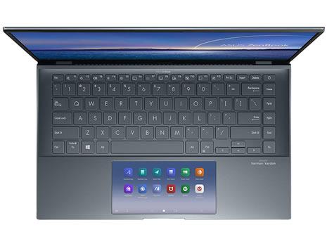 ASUS ZenBook 14 top view